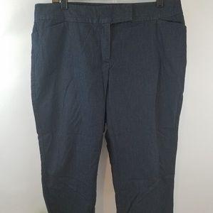 Ann Taylor Curvy Cropped Dress Pants sz 14 Petite